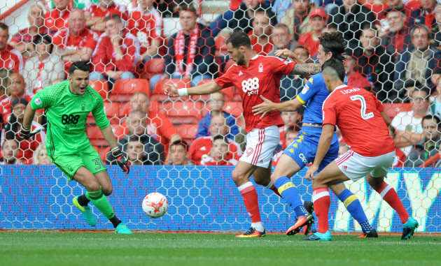 Nottingham Forest v Leeds United - Sky Bet Championship - City Ground