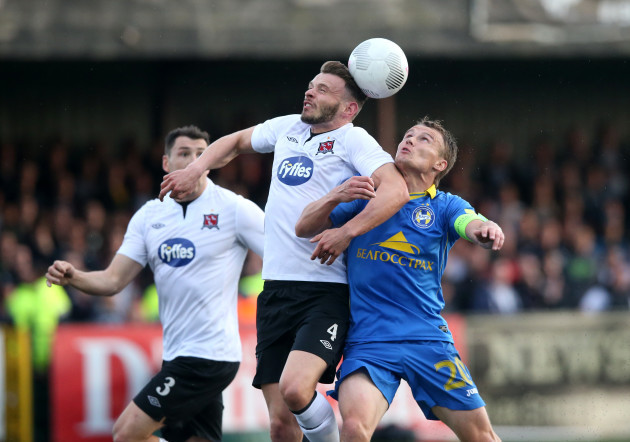 Soccer - UEFA Champions League - Second Qualifying Round - Second Leg - Dundalk v BATE Borisov - Oriel Park