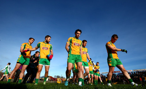 The Corofin team before the game