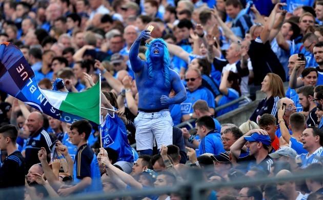 Dublin supporters celebrate