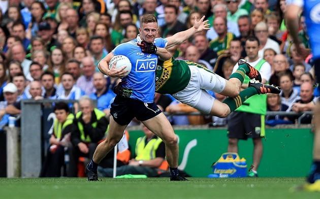 Ciaran Kilkenny with Kieran Donaghy