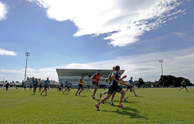 A view from Connacht training today