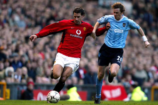 Soccer - FA Barclaycard Premiership - Manchester United v Manchester City