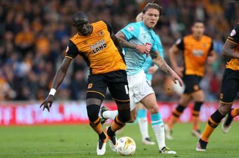 Hull City v Derby County - Sky Bet Championship - Play Off - Semi Final - Second Leg - KC Stadium