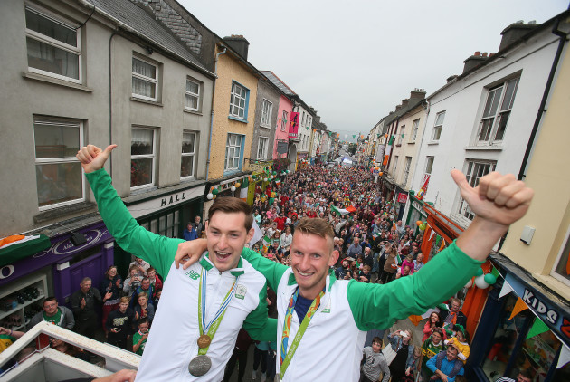 Gary and Paul O'Donovan Homecoming - Skibbereen