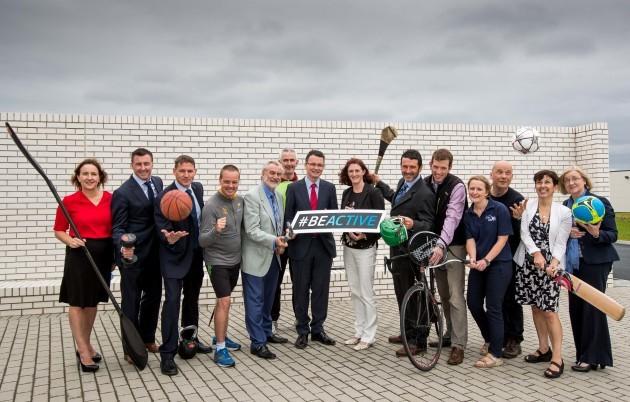 Sport Ireland Launch the European Week of Sport in Ireland