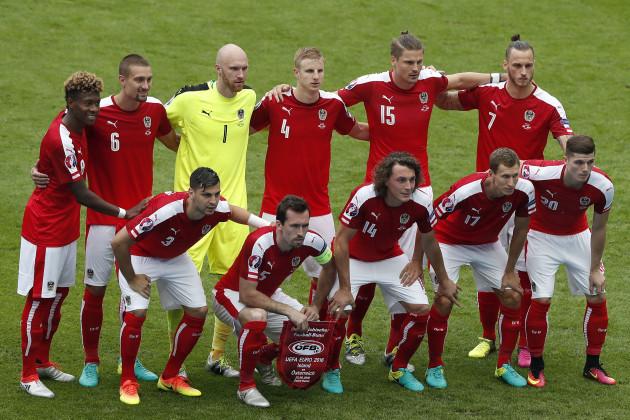 Soccer Euro 2016 Iceland Austria