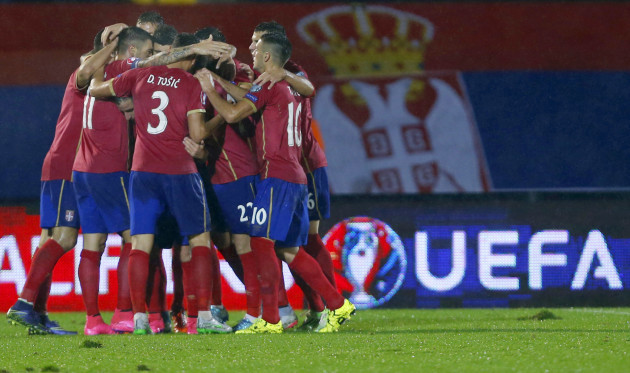 Serbia Portugal Euro Soccer