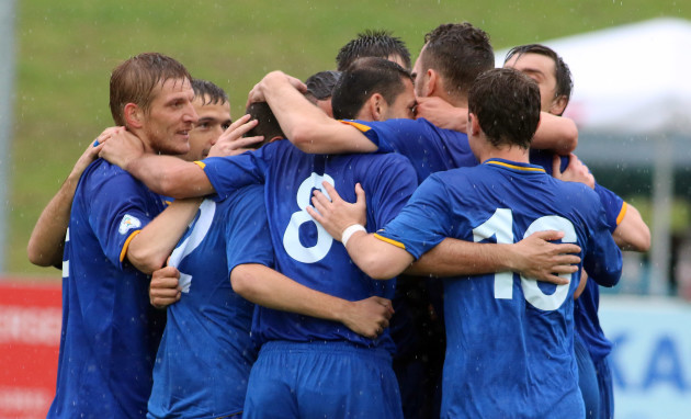 Austria Soccer Moldova Canada