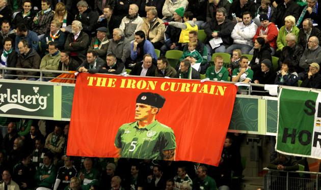 A Richard Dunne flag