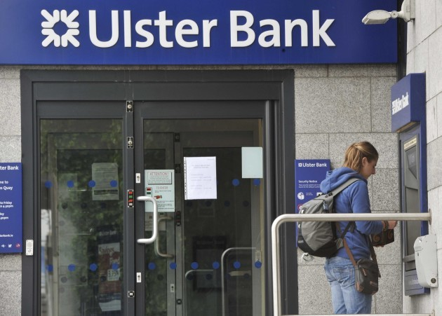 File Photo Ulster Bank is to write to 2000 people in arrears telling them if they sell their homes they will not be pursued for the outstanding debt if they are on low incomes and