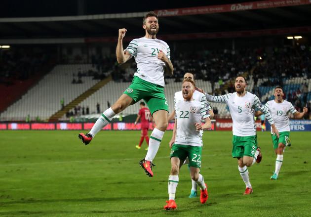 Serbia v Republic of Ireland - 2018 FIFA World Cup Qualifying - Group D - Rajko Mitic Stadium