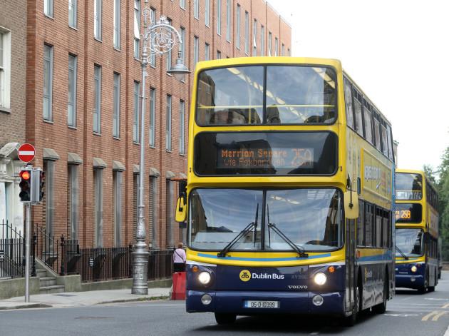 07/09/2016. Dublin Bus. Pictured Dublin buses driv