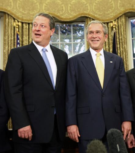 Bush Nobel