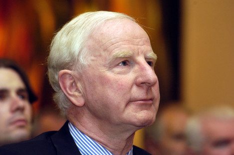 File Photo The family of Pat Hickey, who is being held by Rio