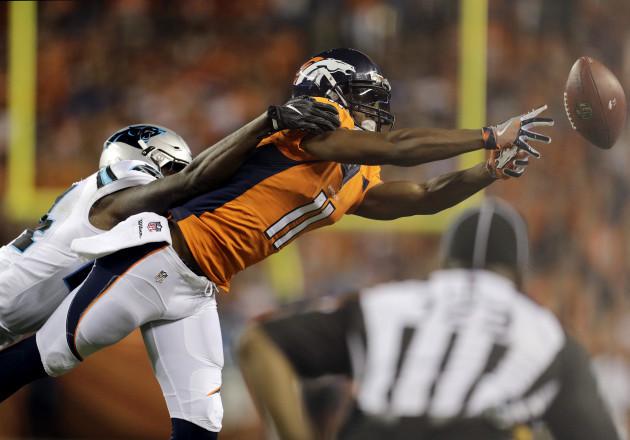 Panthers Broncos Football