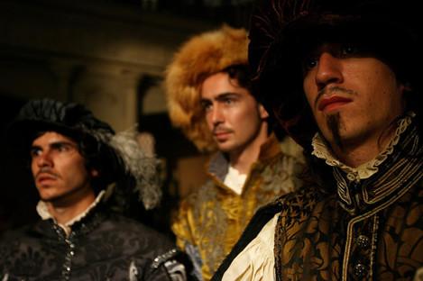 Henry VIII filming in Ireland