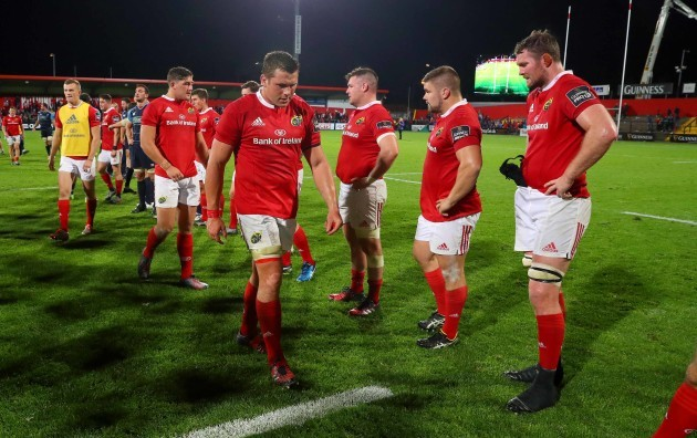CJ Stander dejected at the end of the match