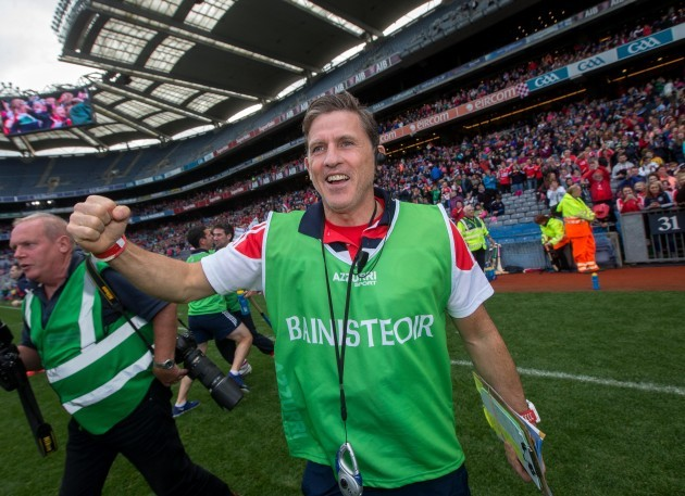 Paudie Murray celebrates at the final whistle