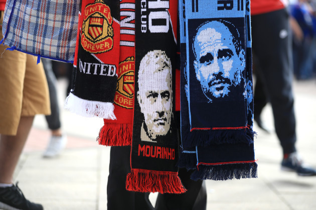 Manchester United v Manchester City - Barclays Premier League - Old Trafford