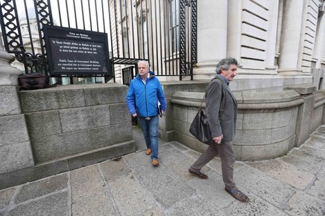 File Photo: Make Up Your Mind Time. Minister of State John Halligan under pressure to make a decision regarding staying or leaving government, over the Waterford Hospital issue. End.