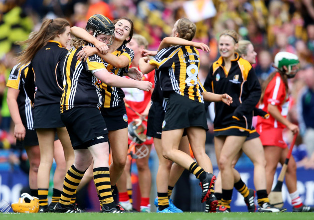 Kilkenny celebrate after the game