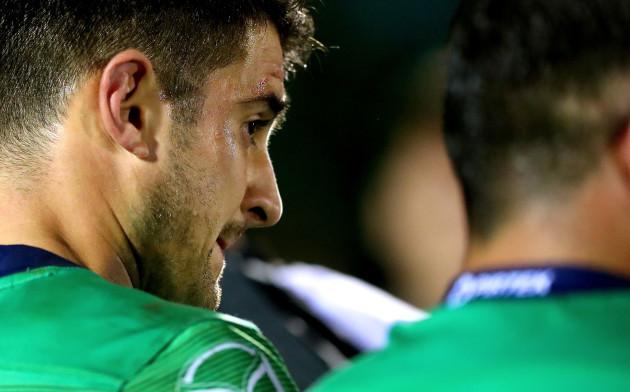 Tiernan O'Halloran dejected after the game