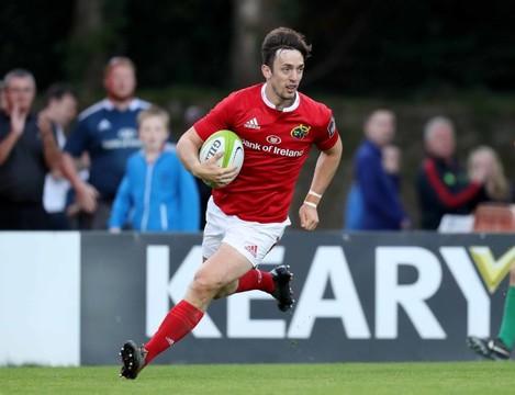 Munster's Darren Sweetnam