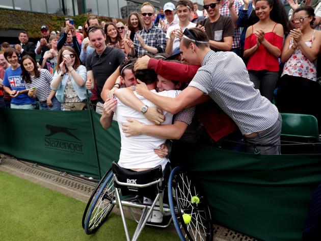 Wimbledon 2016 - Day Thirteen - The All England Lawn Tennis and Croquet Club