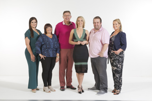 Celebrity Operation Transformation leaders with Kathryn Thomas,