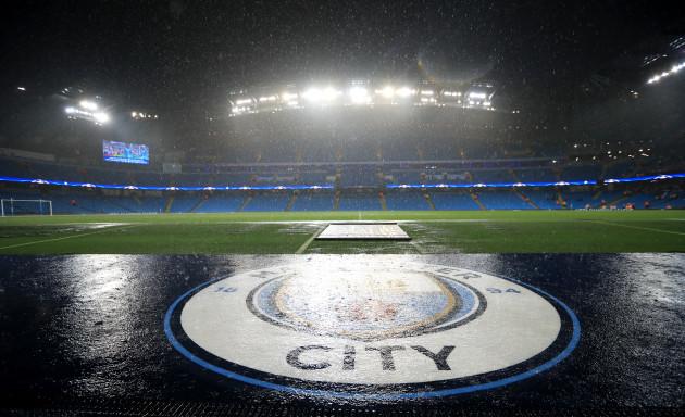 Manchester City v Borussia Monchengladbach - UEFA Champions League - Group C - Etihad Stadium