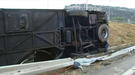 Barcelona bus crash