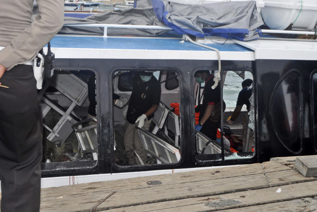 Indonesia Boat Explosion