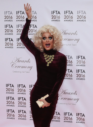 9/4/2016. Irish Film and Television Awards
