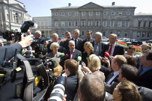 15/6/2010. Fine Gael Leadership Contests