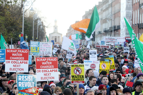 10/12/2014 Anti Water Charges Campaigns Protests