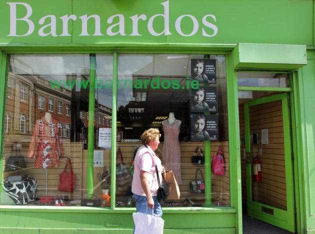 14/8/2012. Charity shops
