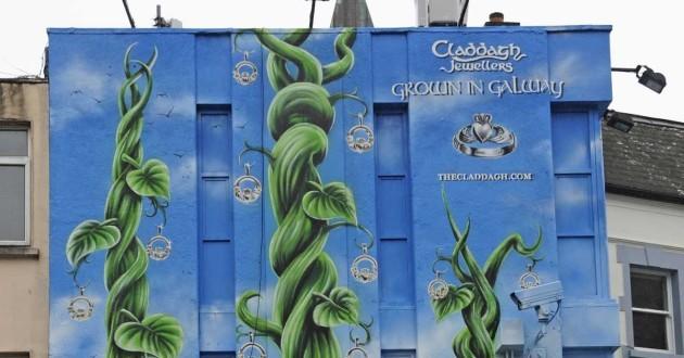 Claddagh mural
