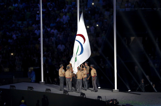 2016 Rio Paralympic Games - Closing Ceremony