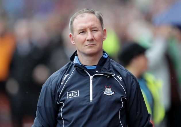 Jim Gavin before the game