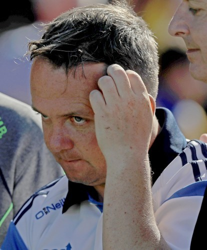 Davy Fitzgerald at the end of the game