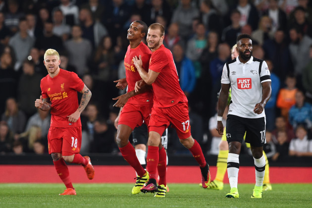 Derby County v Liverpool - EFL Cup - Third Round - iPro Stadium