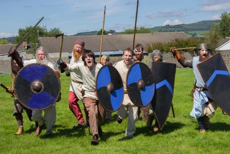 Déise Medieval at the Gallowshill Medieval Fair