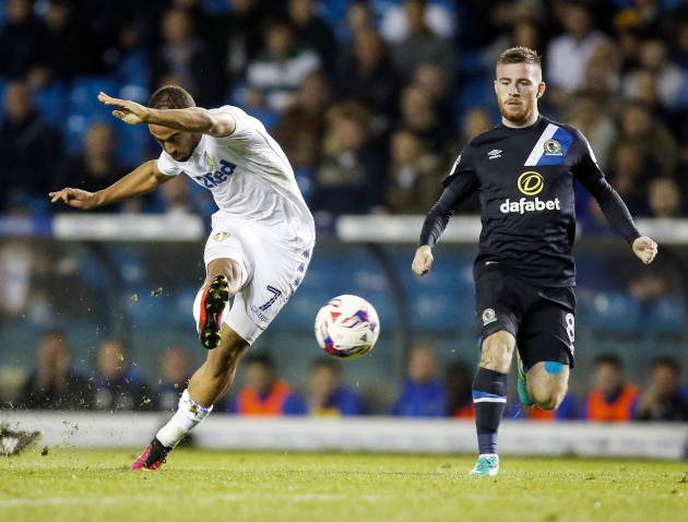 Leeds United v Blackburn Rovers - EFL Cup - Third Round - Elland Road