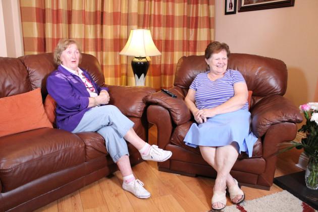 Gogglebox Ireland Angela & Eileen from Castleknock