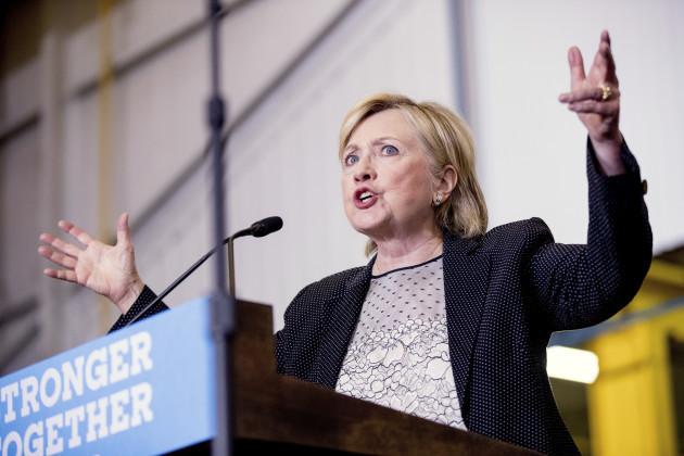 Campaign 2016 Clinton