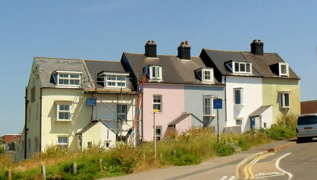 Terraced houses, Seaford