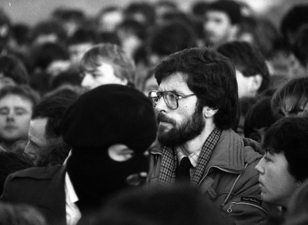 Sinn Fein MP Gerry Adams