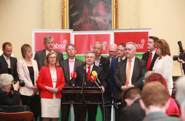 20/5/2016. New Labour leader Brendan Howlin