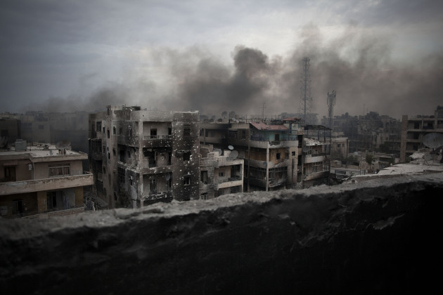 Mideast Syria Aleppo Voices